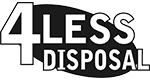 4 Less Disposal